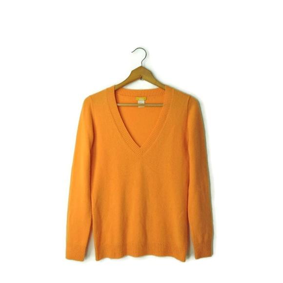 3d101b1bee4 J Crew DIVINA 100% Cashmere Italian yarn sweater